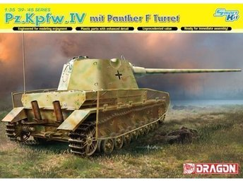 Dragon Models Pz.Kpfw.IV mit Panther F Turret