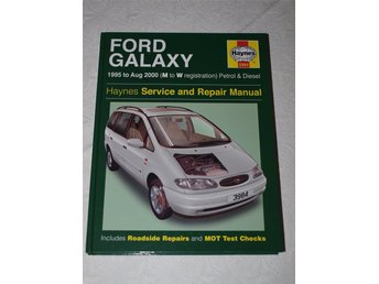 Haynes Reparationshandbok. Ford Galaxy 1995 to aug 2000