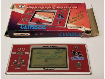 Nintendo Game&Watch Crystal Screen CLIMBER med kartong