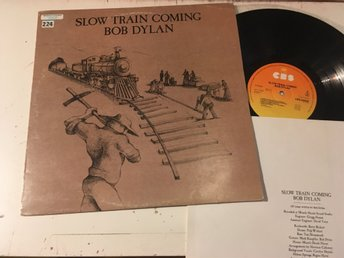 BOB DYLAN slow train coming LP -79 Hol CBS 86095