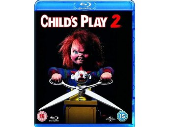 Den onda dockan 2 - Child's Play 2 . Chucky - Svensk text - Inplastad Blu-ray