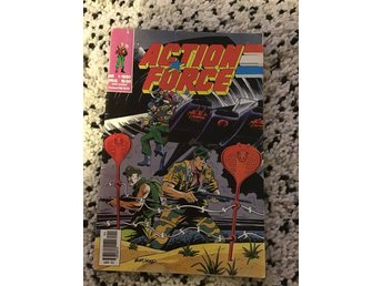 Serietidning Action Force Nr:1 1990