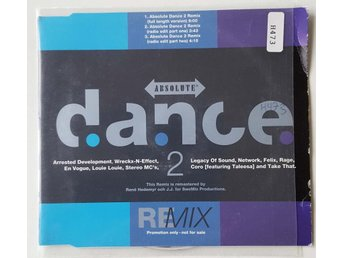 VARIOUS - ABSOLUTE DANCE 2 REMIX  CD PROMO