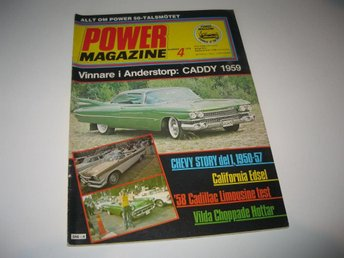 Power 1978-4 Chevrolet Story 1950-57.Edsel.Desoto Adventur