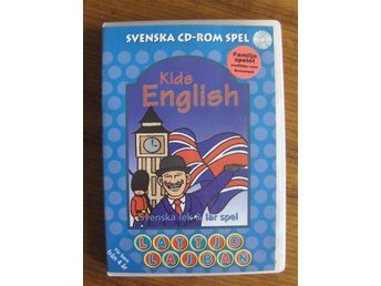 KIDS ENGLISH PC-spel 1998 ENGELSKA Lattjo Lajban