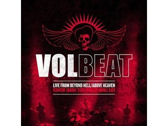 Volbeat: Live from beyond hell/Above heaven 2011 (CD) Ord Pris 99 kr SALE