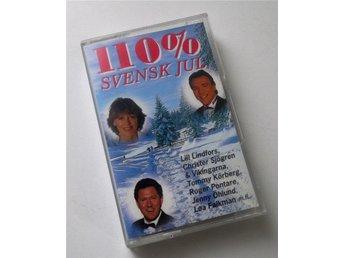 110% Svensk Jul Tommy Körberg Lill Lindfors Roger Pontare mfl kassettband 1994 - Enskede - 110% Svensk Jul Tommy Körberg Lill Lindfors Roger Pontare mfl kassettband 1994 - Enskede