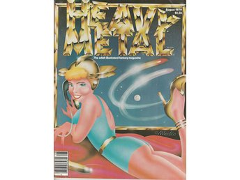 HEAVY METAL ADULT FANTASY MAGAZINE AUGUST 1979