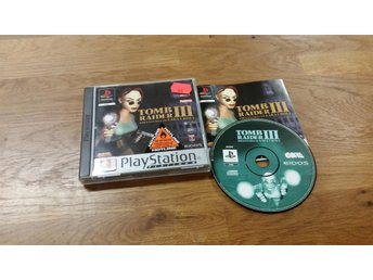 TOMB RAIDER 3 BEG PS1
