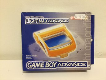 Light Max - Gameboy Advance - Svensksåld