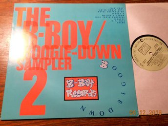 V/A The B-Boy Boogie-Down Sampler 2, LP Westside UK 1988