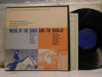MUSIC OF THE SIOUX AND THE NAVAJO