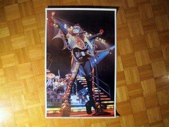 Kiss Gene Simmons Poster ALIVE II 1977 - Basel - Kiss Gene Simmons Poster ALIVE II 1977 - Basel
