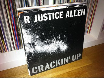 "R Justice Allen - Crackin Up 12"" 1986 (UK press)"