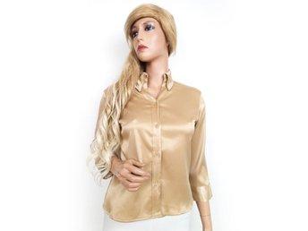 Shirt storlek M Ichi guld SAMFRAKT - Ciechanów - Shirt storlek M Ichi guld SAMFRAKT - Ciechanów