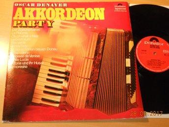 OSCAR DENAYER - Akkordeon Party, LP Polydor Special Holland - Gävle - OSCAR DENAYER - Akkordeon Party, LP Polydor Special Holland - Gävle