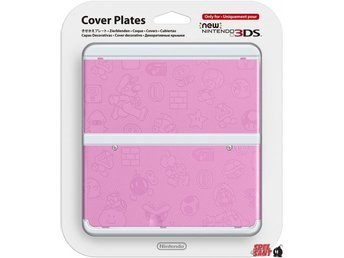 Nintendo New 3DS Cover Plates Rosa Mario (011)
