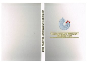 YLEISURHEILUN MM-KISAT HELSINKI 1983 - VM i friidrott Helsingfors 1983 - Sävedalen - YLEISURHEILUN MM-KISAT HELSINKI 1983 - VM i friidrott Helsingfors 1983 - Sävedalen