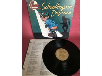 KINKS - SCHOOLBOYS IN DISGRACE MED INNER - Nacka - KINKS - SCHOOLBOYS IN DISGRACE MED INNER - Nacka