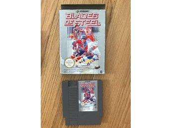 Nintendo Blades Of Steel Svensksålt spel NES, Nintendo Spel Hockey - Lund - Nintendo Blades Of Steel Svensksålt spel NES, Nintendo Spel Hockey - Lund