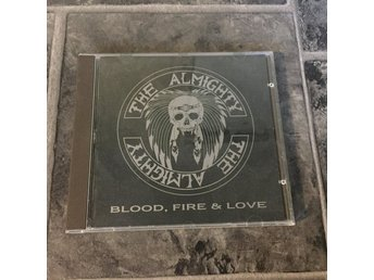THE ALMIGHTY - BLOOD, FIRE & LOVE. (CD)