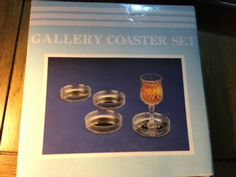 4st Silver plated Gallery set