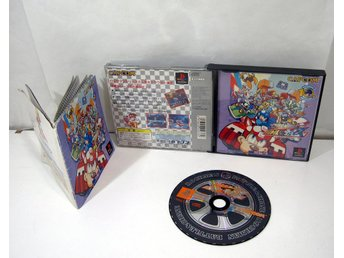 Rockman Battle & Chase (Mega Man) till japansk playstation ps1