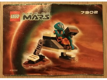 LEGO Life on Mars 7302 - Manual