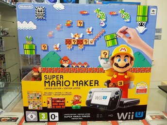 Super Mario Premium Pack / Limited Edition Mario Maker / 32 gb / Wii U
