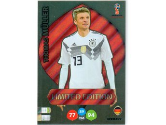 2018 Panini Russia World Cup 2018 NE Thomas Müller Germany Limited Edition