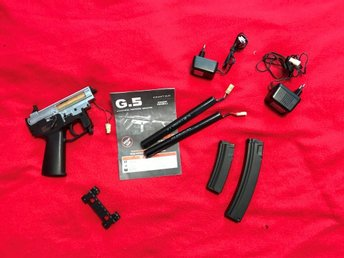 Airsoft.Dellar till Galaxy MP5 PDW AEG (G5)