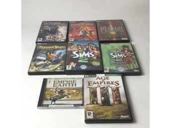 Datorspel, Empire Earth, Apocalypse, The Sims, Dungeons Siege 2, m.m