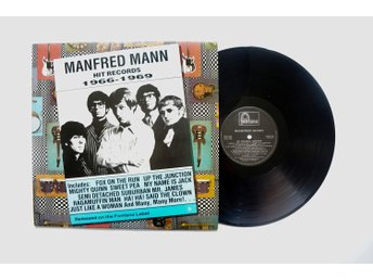 ** Manfred Mann ‎– Hit Records 1966-1969  **