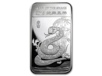 5 oz Year Of The Snake 2013 Silvertacka