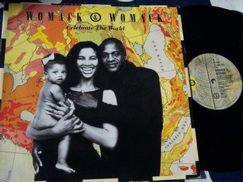 "WOMACK & WOMACK - CELEBRATE THE WORLD 12"" 1988 UK"