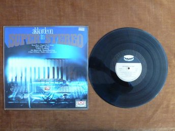 AKKORDEON IN SUPER STEREO,  LP, LP-SKIVA