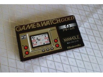 Manhole (Gold) - CIB - Game & Watch