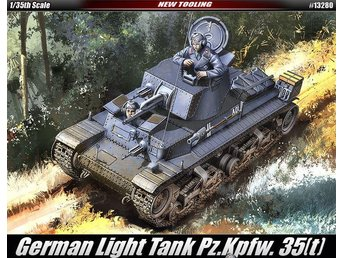 Academy 1/35 German Light Tank Pz.kpfw.35(t) - Skoghall - Academy 1/35 German Light Tank Pz.kpfw.35(t) - Skoghall