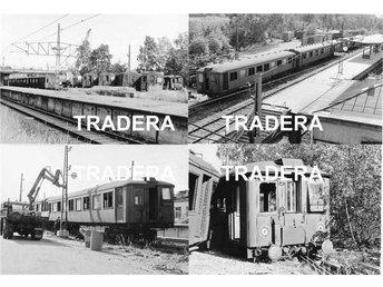 Saltsjöbanan 1976, 16 st svart-vita fotografier, serie 11 - Danderyd - Saltsjöbanan 1976, 16 st svart-vita fotografier, serie 11 - Danderyd