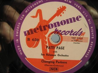 STENKAKA: PATTI PAGE: CHANGING PARTNERS +1.
