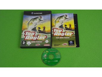Top Angler Real Bass Fishing KOMPLETT GameCube Game Cube