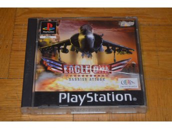 Eagle One - Harrier Attack - Playstation PS1