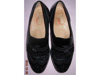 Vintage! Eleganta loafers av M John - Made in Austria - i nyskick - Lerum - Vintage! Eleganta loafers av M John - Made in Austria - i nyskick - Lerum