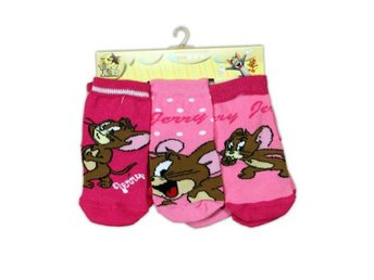 Tom & Jerry strumpor/Sockar 3-pack 13/15