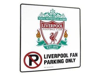 Liverpool skylt No Parking