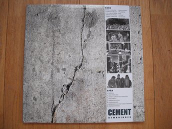 Cement, Utmaningen. SEALED!!!!!!