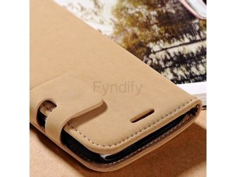 Mobilskal Case For HTC One M7 / M9 Beige M9