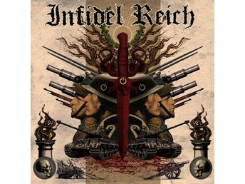 Infidel Reich -S/t lp 2017 Death metal with Asphyx, Acheron