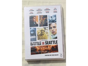 Battle in Seattle Channing Tatum Charlize Theron Helt ny!
