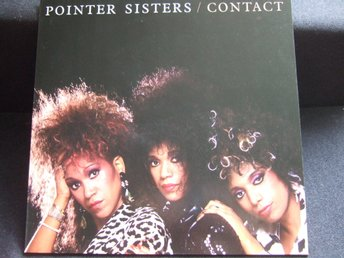 LP - POINTER SISTERS. Contact. 1985